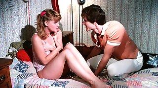 Seductive Cutie Makes Me Cum In Vintage Porn Movie