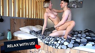 STOP SCROLLING! RELAX WITH NAKED AMATEUR 1TWOTHREECUM COUPLE