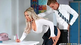 Crazy Roleplay Porn Clip With Busty Amber Jade And Danny D