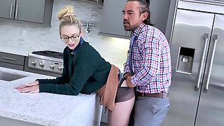Lily Larimar Submits To Her Stepfather