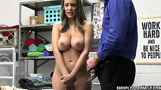 MILF Sofi Ride And Bounce On Officer Mikes Massive Cock To Please Him