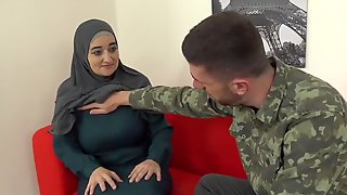 Muslim Mommy Pays For Service With Her Body