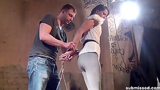 Samantha Joons Gagged And Tied Up For An Amazing BDSM Game