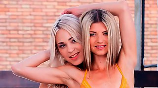Gina Gerson & Selvaggia In Orgy With DP