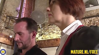 Redhead Mature Loves Anal Fuck With Her Designer