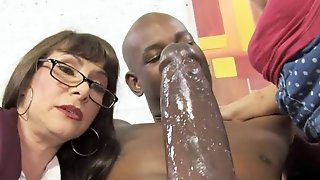 Casey Cumz Watches Her Mom Getting Creampied By A BBC