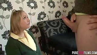 Caught By Her Stepdad
