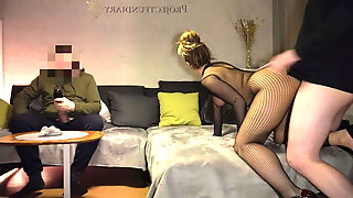 Amateur Couple Has Sex As Cuckold Friend Watches - Projectsexdiary