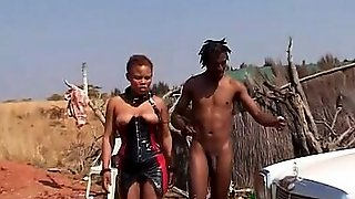 Rough African Fetish Fuck Lesson