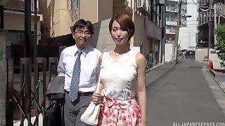 Wild Fucking With Cum Loving Wife Kimijima Mio In The Bedroom