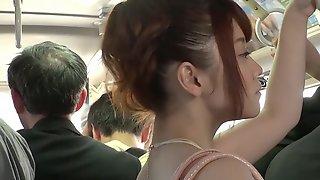 Horny Mari Motoyama Gets Fucked On A Train