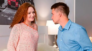 Redhead Teen Shelley Bliss Debuts With Anal
