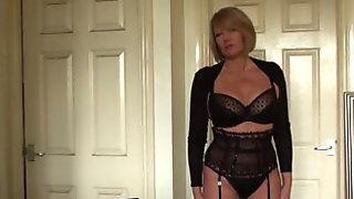 SubSlut MILF Amy Gets Ready For A Night Of Swinging