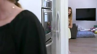 Father Fucks His Stepdaughter So As Not To Jerk Off