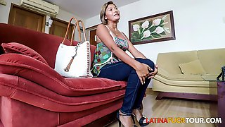 Mexican Mamacita First Anal Casting