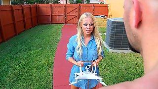 Stunning Blonde Model Brice Bardot Penetrated Like A Cheap Slut