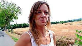 Mature Brunette Liss Longlegs In German Amateur Porn