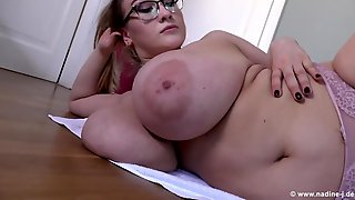 Thick Euro Girl With Fat Ass Exercises - Monster Tits