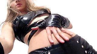 Black Leather Gina Gerson LIVE