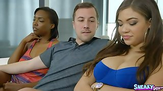 Handsome Breasty Young Slut Cassidy Banks Was Fucked In Her Throat