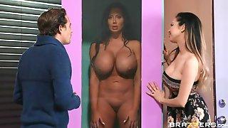 Threesome Porn Video Featuring Sybil Stallone