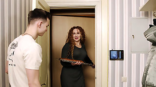 Mature Lady Tanya Foxxx Pounded By Young Neighbor