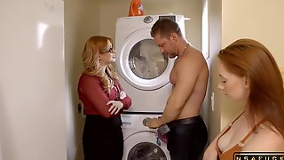 Mom Helps Daughter Teach Pervy Step Brother A Lesson