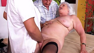 Perverted GILF Called Judy Shagged In Various Sex Positions