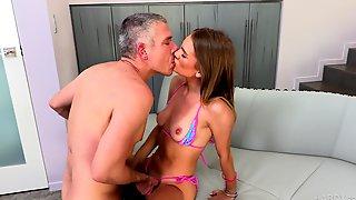 Slim Woman Devours Cock In Insane XXX Action