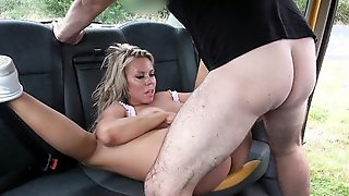 Blonde MILF Has Kinky Intercourse With A Cab Driver In A FakeTaxi Episode