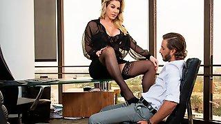 Sensual Big-boobed Chick Kayla Paige Is Enjoying Hardcore Fuck