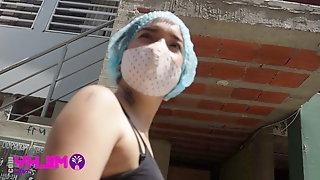 Venezuelan Donna Caught And Fucked In Peru