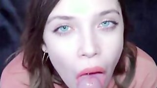Blue-eyed Cutie Gets A Firm Cock In This POV-style Video