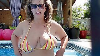 Plus-size Wifey In Bathing Suit