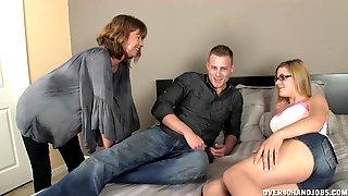MILF Helps Novice Couple Enjoy A Finer, More Adventurous Sex Life