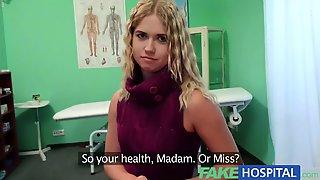 Fakehospital Lovely Blonde Teen Prescribed Inner Cum Inside