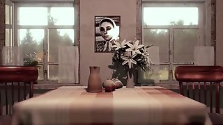 Shemale MOM Fucking - 3D Futanari MILF Animated