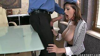 Sultry Secretary Sensual Jane Hot Porn Video