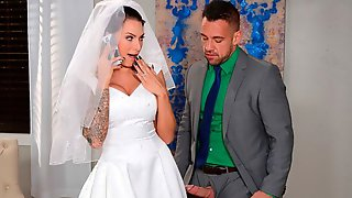 Anal Sex Before The Wedding With A Hot Bride Juelz Ventura