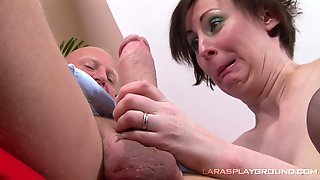 Dirty Mature Chick Paul Black Gives Head And Rides A Large Dick