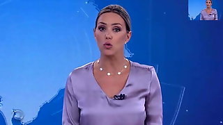 WEATHER GIRL, BRAZILIAN BLONDE MILF