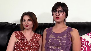 1st Time Newbie Chicks Casted Fucked & Cummed On!