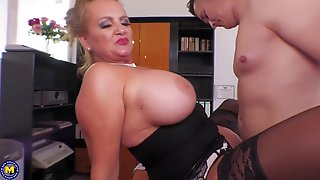 Ht German Big Tits Mature Boss