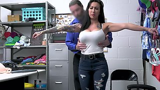 Tattooed MILF Lily Lane Gets Fucked Hard In The Office. HD Vide