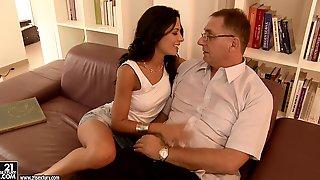 Shalina Devine Wants His Mature Cock