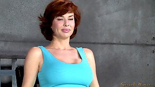 Busty Milf Deepthroated In Brutal Bdsm Video With Veronica Avluv