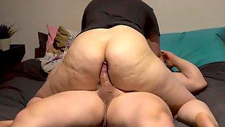 Pawg Ass Drilling Facesitting And Large Butt Assjob Spunk Flow!