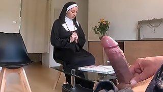 I Take Out My Dong In Religious Awaiting Room, Nuns Shocked!