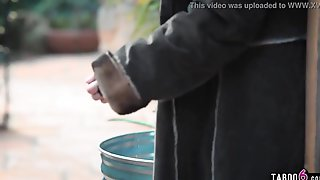 Street Beauty Victoria Voxxx Finds A Used Fuck-rubber In The Trash Of A Spouse