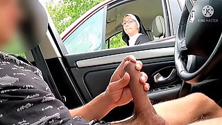 I Pull Out My Penis On The Motorway Area, This Nun Is Shocked